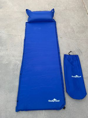 Campland sleeping pad w/inflatable pillow--New for Sale in Temple City, CA
