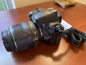 Nikon D3100 Digital Camera with 2 lens and for Sale in Wesley Chapel, FL