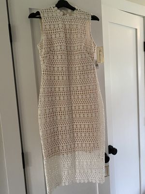 Shoshanna Size 4 Ivory Mirian Dress for Sale in Patchogue, NY