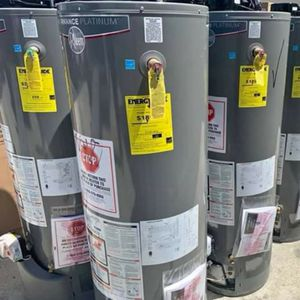 Rheem water heater 50 gallons perfromance PLATINUM natural gas promo price includes delivery and installation for Sale in Arcadia, CA