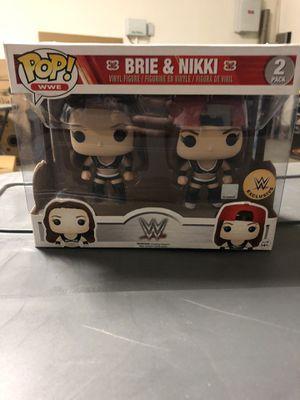 Brie and Nikki bella funko pop alternate wwe exclusive for Sale in Fontana, CA