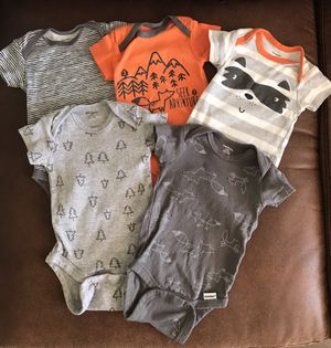 Gerber Seek Adventure Raccoon Onesie Set for Sale in Chandler, AZ