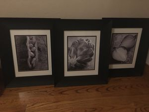 Three Black & White Framed Kitchen Photos for Sale in San Jose, CA