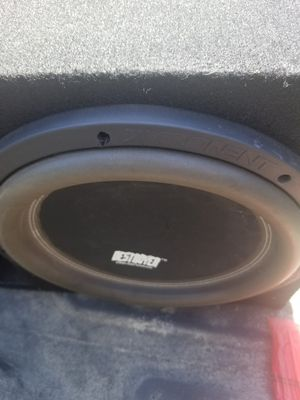 "12"" exponent destroyer for Sale in Seaside, CA"