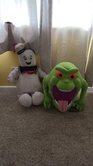 Ghostbusters Large Stuffed Animals NEW for Sale in Baltimore, MD