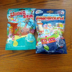 Two Packs Of Grab A Bag Puzzle. for Sale in Tijeras, NM