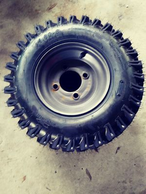 4.80-8. 4ply Tire and Rim Traction Directional A78-x-010 for Sale in TEMPLE TERR, FL