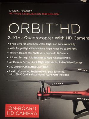 Propel Orbit HD Drone 2.4ghz for Sale in Pompano Beach, FL