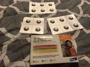 Trifexis spinosad & milbemycin oxime flea pill for Sale in Fairview, OR
