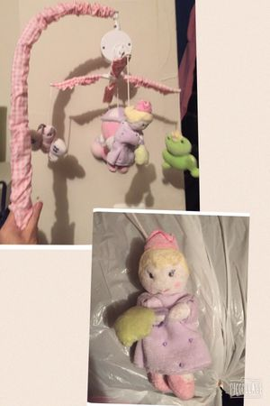 Baby crib mobile Princess and frog theme for Sale in Fairfax, VA