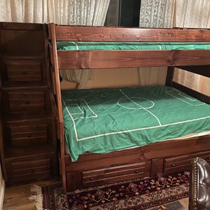 Twin Over Full Bunk Bed for Sale in Poway, CA