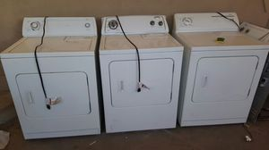 Whirlpool and Kenmore gas dryers for Sale in Las Vegas, NV