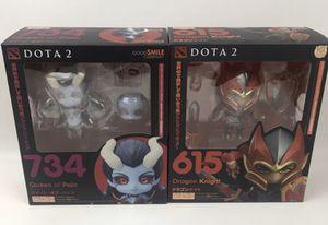 Dota 2 Dota2 Nendoroid Toys Figures Set New No Code $50 OBO for Sale in Henderson, NV