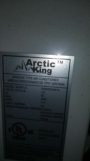 Arctic king window AC unit for Sale in Pinehurst, TX