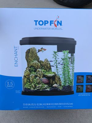 TOPFIN 3.5 Gal Fish Tank for Sale in Chandler, AZ