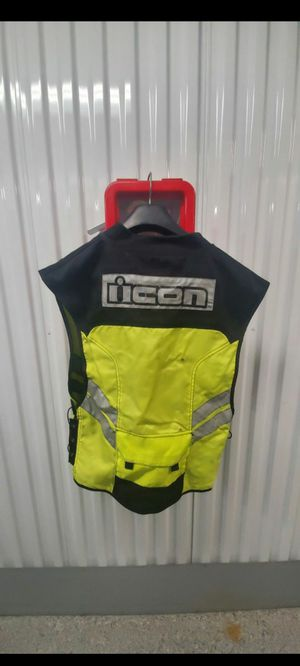 Icon Reflective Motorcycle Vest - Military Base Approved and Required for Sale in San Diego, CA