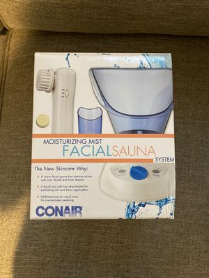 Conair facial steamer and microdermabrasion brush for Sale in Miami, FL