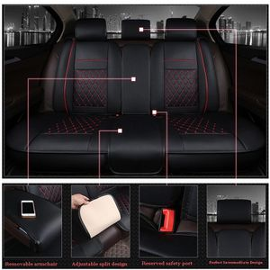 Pu leather car seat covers back row bench seat for Sale in Los Angeles, CA