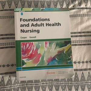 Foundations and Adult Health Nursing Textbook for Sale in Long Beach, CA