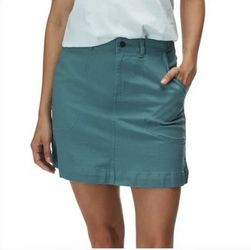 Patagonia Women's Stand Up Skirt Tasmanian Teal 58285 Organic Cotton Size 18 nwt for Sale in Corona,  CA