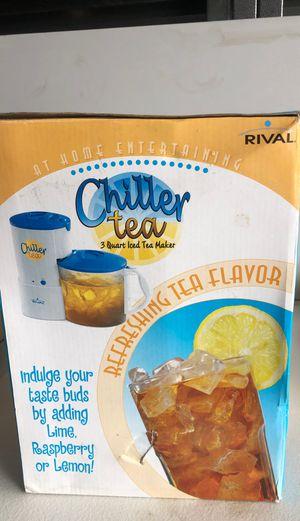 Chiller tea 3 quart ice tea for Sale in Garden Grove, CA