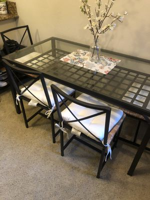 IKEA dining table and chairs for Sale in San Jose, CA