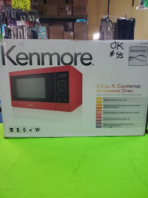 Microwave oven 0.9 cu ft new only open box .firme price for Sale in East Los Angeles, CA