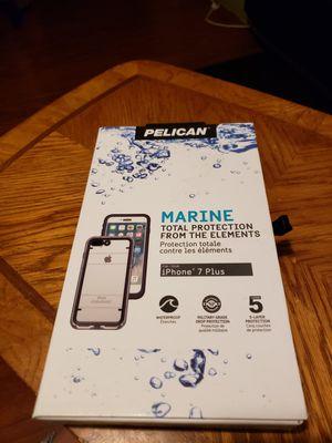 $10 iPhone 7plus waterproof marine waterproof case for Sale in Indianapolis, IN