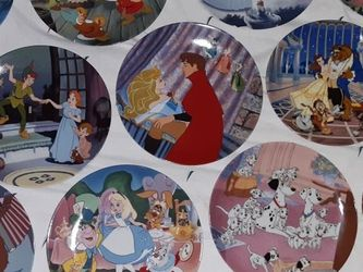 Disney Collector's Plates for Sale in Baytown,  TX
