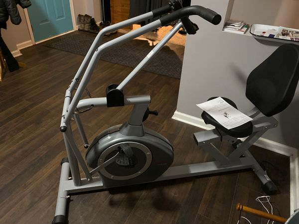 Brand new exercise bike ( less than 1 mile on it )