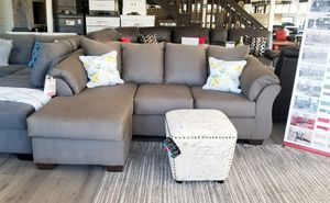 $499 WE DELIVER! BRAND NEW GREY SECTIONAL SOFA for Sale in Oviedo, FL