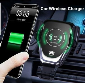 10W QI Wireless Fast Charger Car Mount Holder Stand For iPhone and Samsung for Sale in Los Angeles, CA
