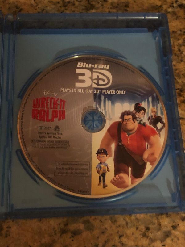 Wreck-It Ralph 3D Blu-ray $5
