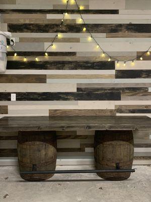 Whiskey barrel table. 8 feet long! for Sale in Waxahachie, TX