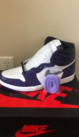 Air Jordan 1 High Court Purple 2.0 for Sale in Los Angeles, CA