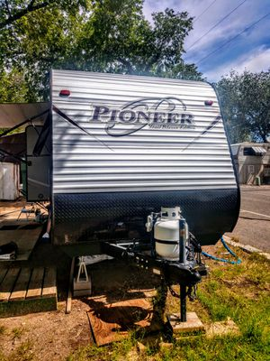 2018 RV Trailer-Mint-1200 miles only for Sale in LOS RNCHS ABQ, NM