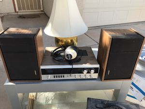 Vintage quadraphonic stereo and two Bose speakers for Sale in Gilbert, AZ
