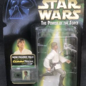 Hasbro Star Wars Commtech Luke Skywalker With T 16 Skyhopper Action Figure for Sale in Yorba Linda, CA