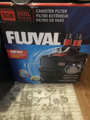 Anyone know how to install this fluval 306 filter into a fish tank? for Sale in Richmond, CA