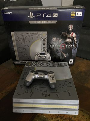 PlayStation 4 Pro. Especial edition for Sale in Schaumburg, IL