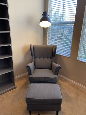 Ikea chair and ottoman for Sale in Temecula, CA
