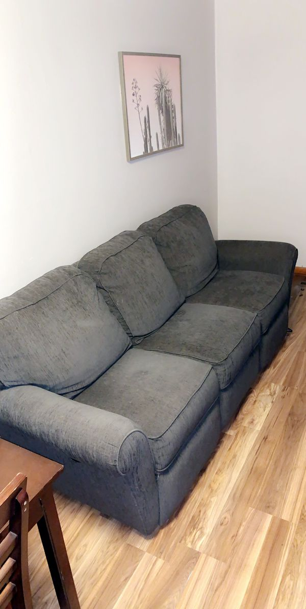 Two lazyboy reclining couches for $250 if you pick them up