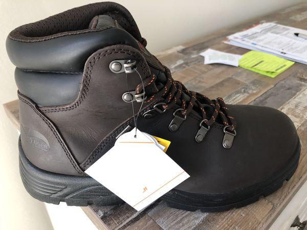 Avenger steel toe work boots