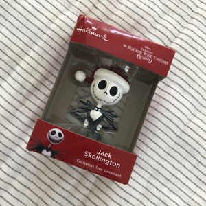 The Nightmare Before Christmas Jack Skellington Ornament for Sale in Graham, WA