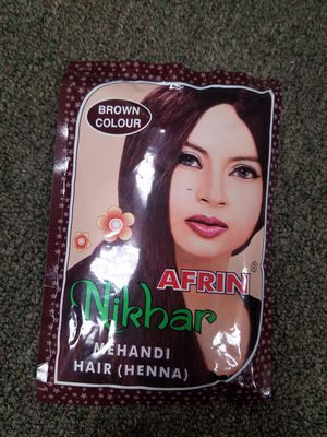 Brown mehandi/henna hair coloring for Sale in Rancho Cucamonga, CA
