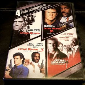 Lethal Weapon collection DVD for Sale in Marysville, WA