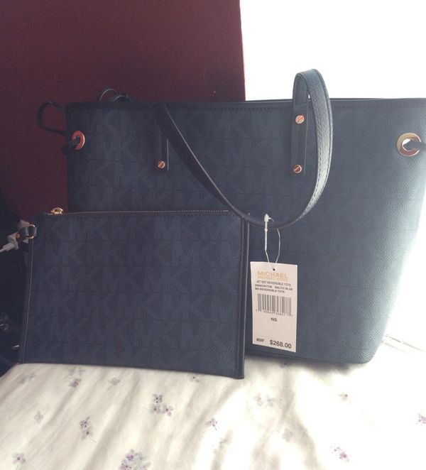 Brand New Authentic Women's MK Tote Bag With Wallet