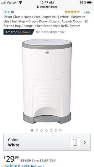 Dekor diaper pail for Sale in Washougal, WA