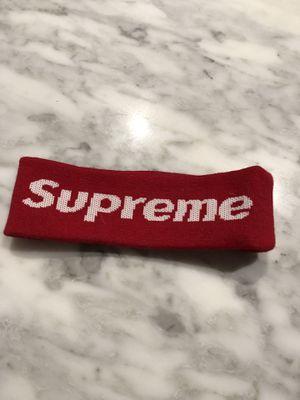 Authentic Supreme red headband for Sale in Jefferson, LA
