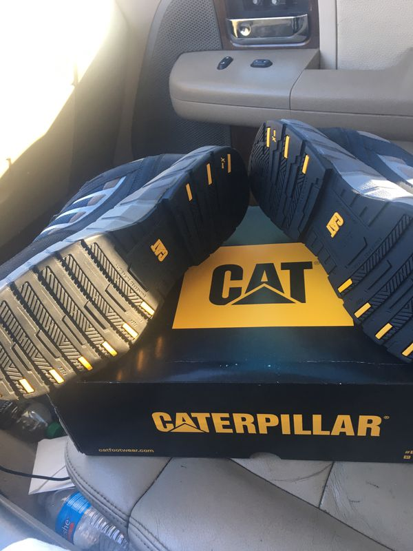 Estoy vendiendo estos zapatos Caterpillar son nuevos tienen fiero en la pinta y son del número #12estoy pidiendo $85